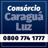 Banner Consórcio Caraguá Luz 0800 774 1777