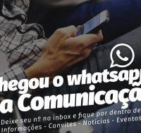 Comunicação da Prefeitura de Caraguatatuba está no whatsapp