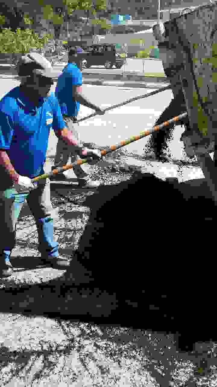 Operação Tapa-buraco chega a diversas ruas da cidade (Fotos: Divulgação/PMC)