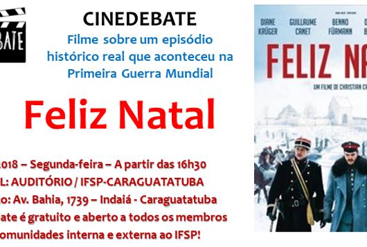 11_23 IFSP promove cinedebate sobre Feliz Natal