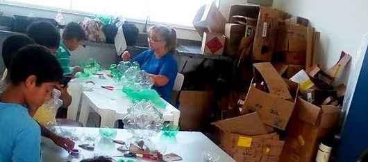 11_23 Núcleo Social do Morro do Algodão promove arrecadação de garrafas PET