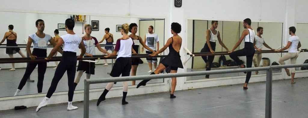 audição Corpo de Baile