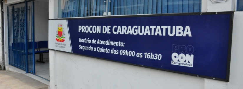 Reclamações de cobranças indevidas, empréstimos e internet dominam Procon de Caraguatatuba em julho
