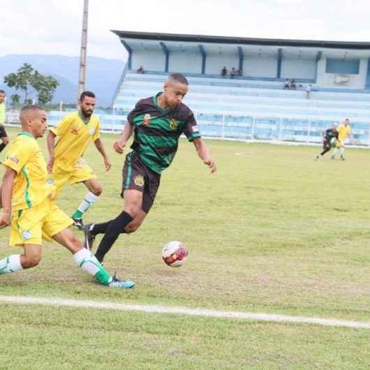 Caraguatatuba divulga resultados dos jogos de futebol do final de semana