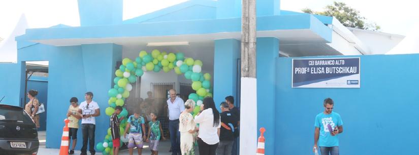 Barranco Alto ganha Centro de Educação Infantil integral para 100 crianças