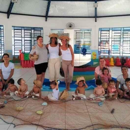 CEIs comemoram aniversário de Caraguatatuba com apresentações sobre a cultura caiçara