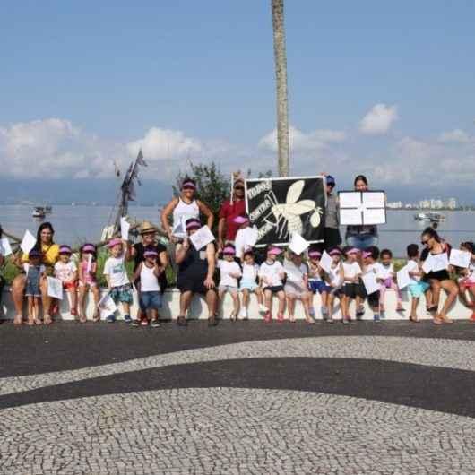 Escolas da rede municipal de Caraguatatuba realizam atividades de conscientização contra a dengue