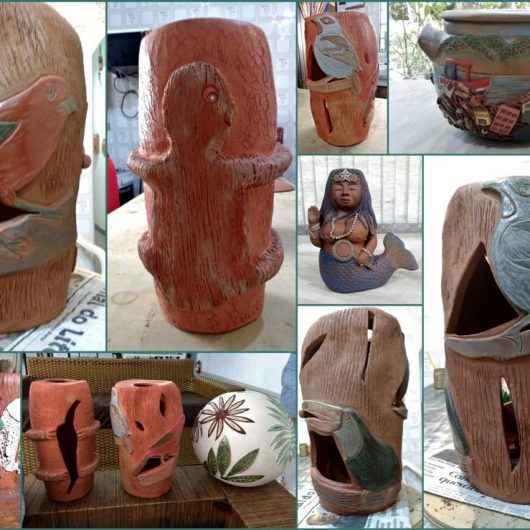 Exposição Tripolar, Cerâmica da Serra e do Mar 'Totem'