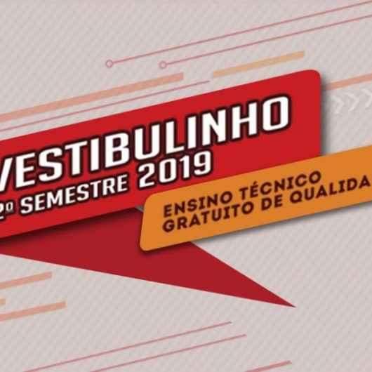 ETEC de Caraguatatuba abre inscrições para o vestibulinho 2º semestre de 2019