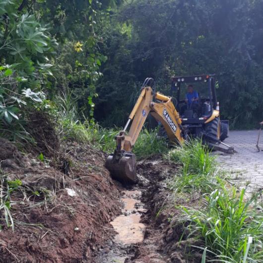 Novo sistema de drenagem é instalado na Martim da Sá
