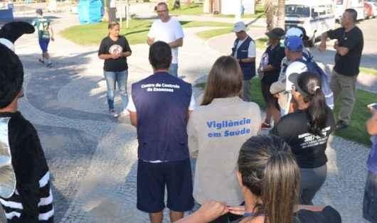 Caraguatatuba promove ações de combate ao mosquito transmissor da dengue