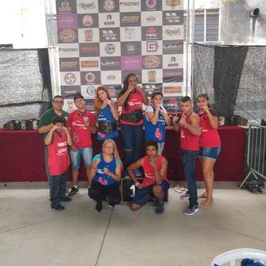 Boxeadores de Caraguatatuba conquistam o 6º lugar no 14º Campeonato Paulista de Boxe