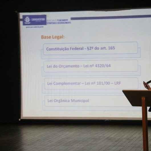 Audiências públicas da LDO 2020 da Prefeitura de Caraguatatuba discutem orçamento de R$ 805 milhões nas regiões Norte e Sul