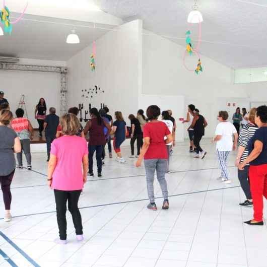 Atividades de dança e ginástica promovidas no Ciapi continuam normalmente