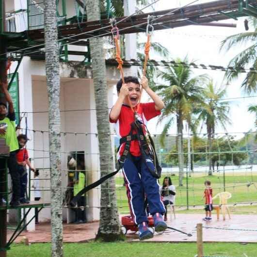 Espaço Aventura recebe visita de alunos do Colégio Batista Internacional de Caraguatatuba (CBIC)