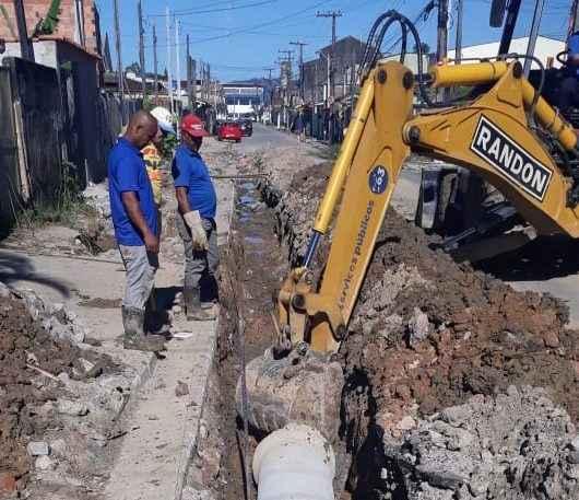 Nova rede de drenagem no Tinga será finalizada essa semana
