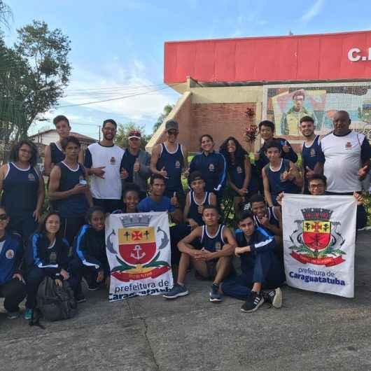 Equipe juvenil de atletismo de Caraguatatuba conquista pódio nos Jogos Abertos da Juventude