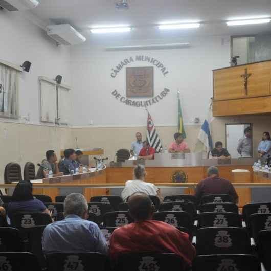 Audiências dos projetos da Guarda Civil e LDO de 2020 de Caraguatatuba encerram nesta quarta Câmara Municipal