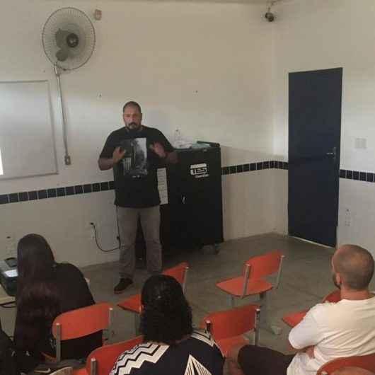 Escola Masako Sone recebe palestra sobre separação de resíduos sólidos para pais e comunidade