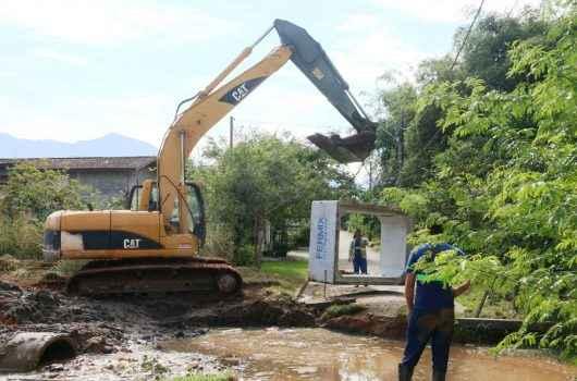 Nova travessia e rede de drenagem são instaladas no Capricórnio II