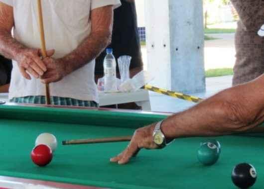 Idosos e pessoas com deficiência participam do 1º Festival de Sinuca do Ciapi