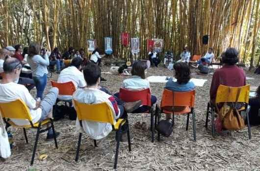 Mestre Angolinha e Cia de Moçambique participam do evento 'Encontro com os Mestres', em Jacareí