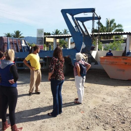 Membros do CTEA visitam Ecopontos e ATT para conhecer gestão de resíduos de Caraguatatuba