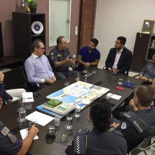 Comando da PM do Estado conhece projeto de reconhecimento facial inovador em Caraguatatuba