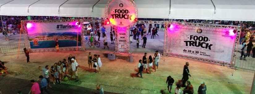 Tudo pronto para abertura do 3º Festival de Food Truck de Caraguatatuba