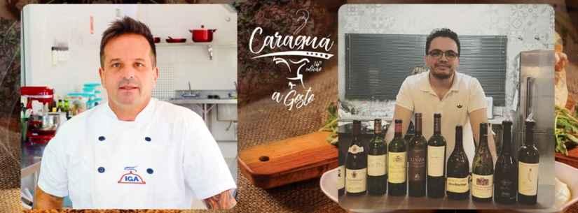Participantes do Caraguá a Gosto têm palestras com especialistas em comidas e bebidas
