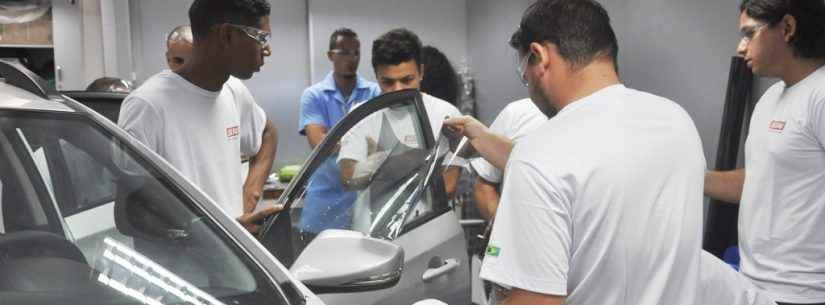 Caraguatatuba inicia curso de Instalador de Películas Automotivas