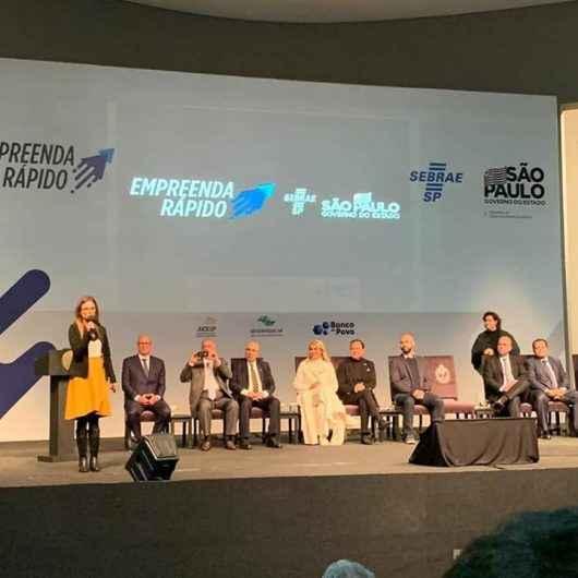 Caraguatatuba marca presença no Lançamento do Programa Empreenda Rápido do Governo de São Paulo