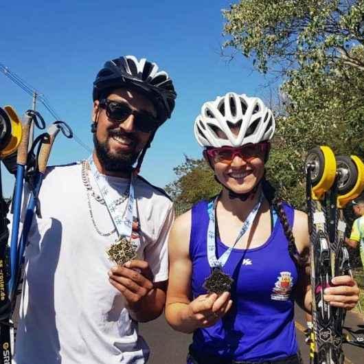 Atletas de Caraguatatuba conquistam sete ouros na 2ª etapa do Circuito Brasileiro de Rollerski