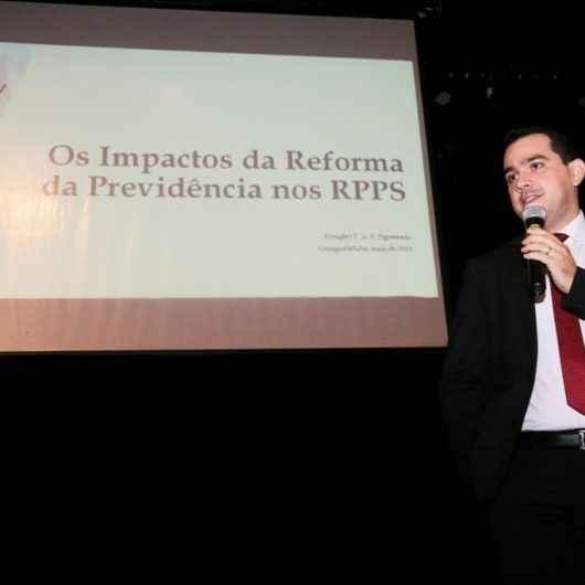 Palestra sobre impacto da reforma previdenciária no funcionalismo público segue com inscrições abertas
