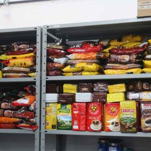 Fundo Social de Caraguatatuba recebe doação de alimentos