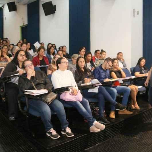 Mais de 200 classificados para o cargo de agente comunitário de saúde da Prefeitura de Caraguatatuba fazem curso de formação