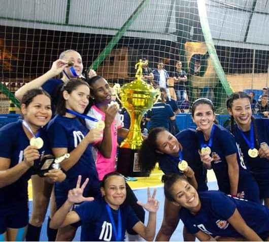Equipe de Caraguatatuba é campeã na 11º Copa Sebastianense de Futsal Feminino