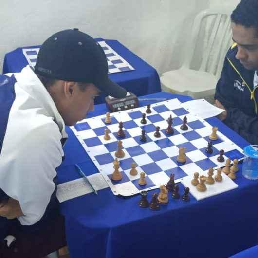 Equipe de Xadrez Masculino de Caraguatatuba é Campeã nos Jogos Regionais