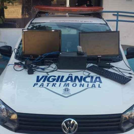 Vigilância patrimonial de Caraguatatuba evita furto em prédio público