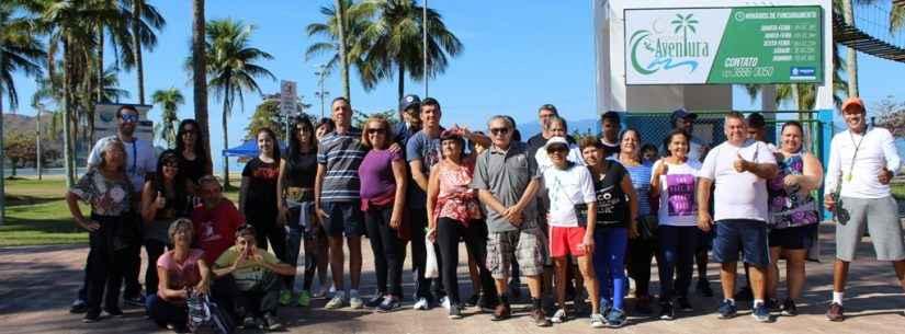 Sepedi promove caminhada ecológica na avenida da praia e alerta sobre conscientização