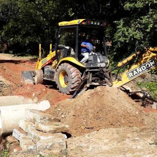Nova rede de drenagem é instalada no Rio Claro