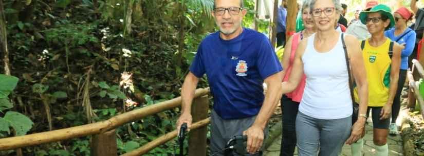 Caraguatatuba inaugura trilha para pessoas com deficiência e idosos