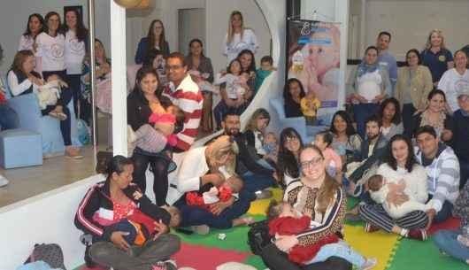 Semana Mundial do Aleitamento Materno é celebrada em Caraguatatuba