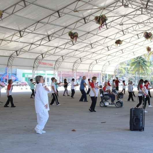 Caraguatatuba participa de atividades no Dia Mundial de Wushu-Kungfu