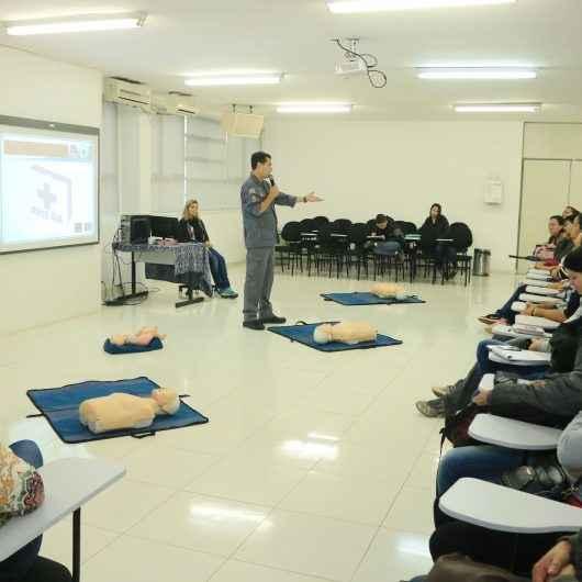 Treinamento de Primeiros Socorros conclui atividades da Semana de Prevenção às deficiências