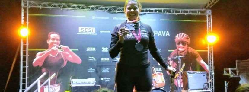 Com determinação, paratleta de Caraguatatuba alcança 3° lugar no XTerra 2019