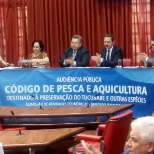 Pescadores da Colônia Z-8 participam de Audiência Pública em prol da preservação do Tucunaré
