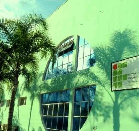 Instituto Federal solicita remoção de planta exótica que está causando avarias no prédio da instituição