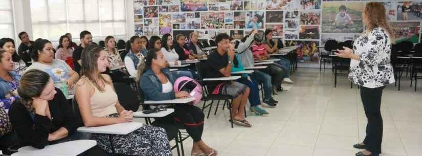 Cento e setenta servidores da Secretaria de Educação da Prefeitura de Caraguatatuba recebem noções sobre ética e disciplina