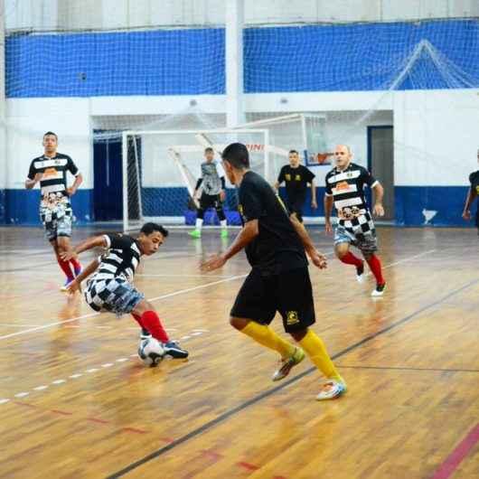 Goleadas marcam rodada do Campeonato Municipal de Futsal